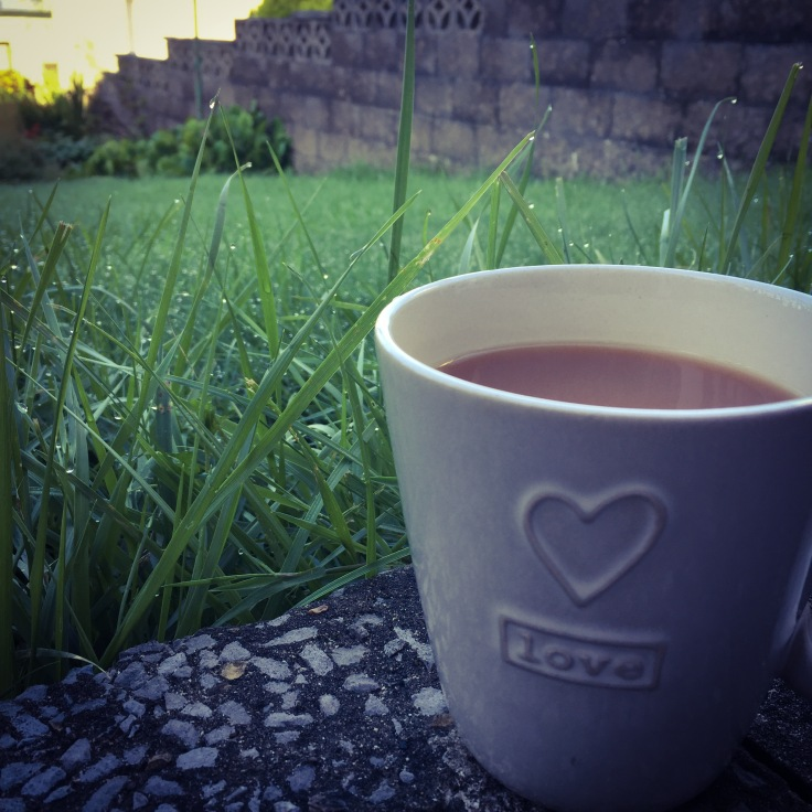 Garden Cuppa to start the day